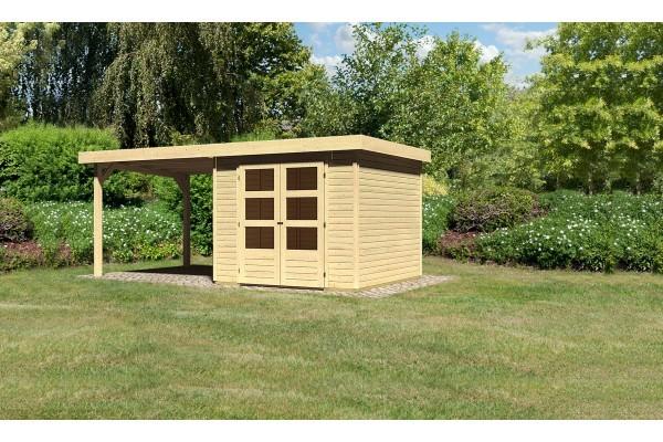 "Woodfeeling Gartenhaus ""Askola 3,5"" SET"
