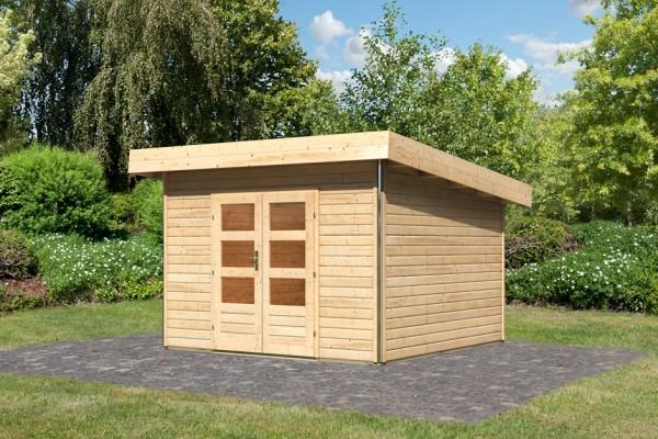 "Woodfeeling Gartenhaus ""Moosburg 3"""