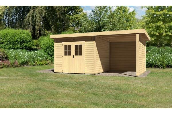 "Woodfeeling Gartenhaus ""Kulpin 6"" SET"