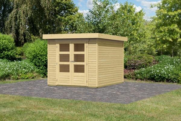 "Woodfeeling Gartenhaus ""Askola 3"""