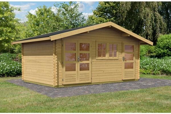 "Woodfeeling Gartenhaus ""Lagor 2"""
