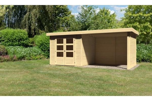 "Woodfeeling Gartenhaus ""Askola 3"" SET"