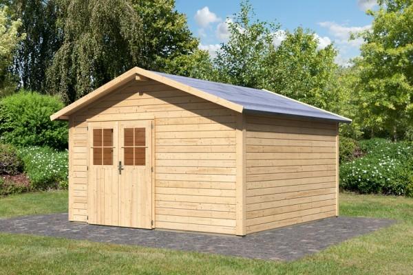 "Woodfeeling Gartenhaus ""Linau 10"""