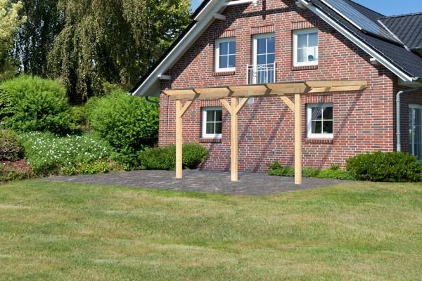 Terrassenüberdachung Classic Modell 3 Größe B Verlängerbar