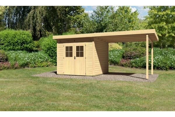 "Woodfeeling Gartenhaus ""Kulpin 3"" SET"