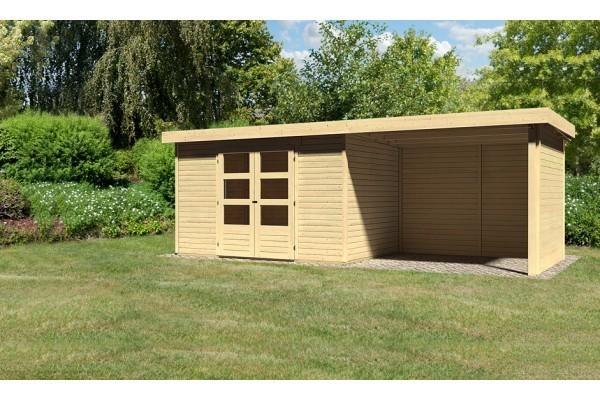 "Woodfeeling Gartenhaus ""Askola 4"" SET"