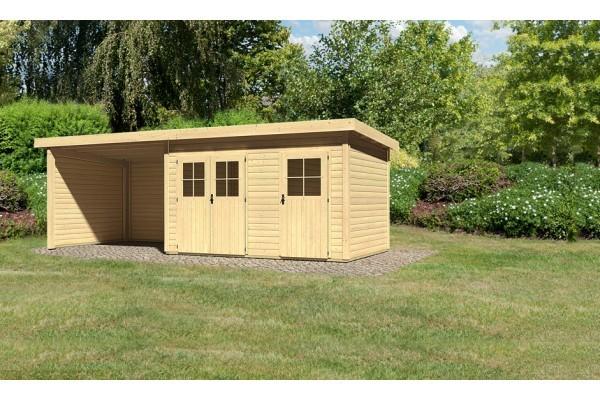 """Woodfeeling Gartenhaus """"Tintrup"""" SET"""
