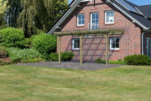 Terrassenüberdachung ECO Modell 1 Größe B verlängerbar